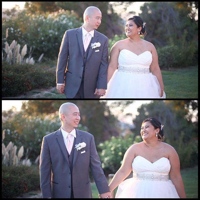 How do you not 😂, 😊,and 😁 when the bride has a perma-smile and is just enjoying everything around her ...Happy Wife, Happy Life. . . . #happywifehappylife #cheekshurt #smiles #love #beautiful #makeup #hair #flowers  #rings #happy #happiness #fashion #family #instagood #wedding #bayareawedding #weddingplanning #brides #bridesmaids #bayareaweddingvideography #weddingvideography #weddingvideographers  #canyonview #directmyday