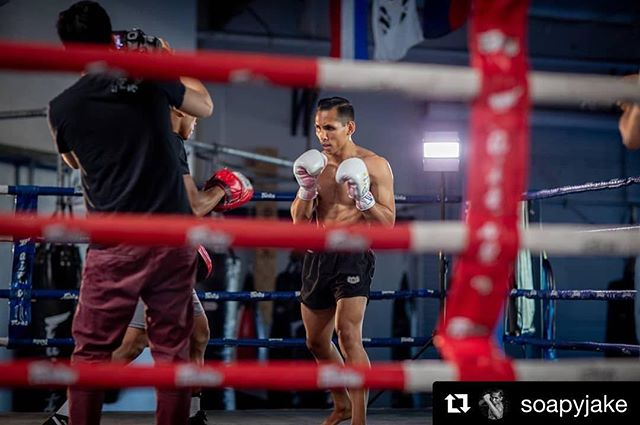 We don't just film wedding rings 😁...🥊💍...To new arenas that video will take us...Action! Thanks @soapyjake (fighter) @johnremus (photographer)!! Let's do more! . . . #bluedolphinvideos #bayareavideography #bayareavideographers #koafitness #mma #mixedmartialarts #boxingring #muaythai #muaythaifighter