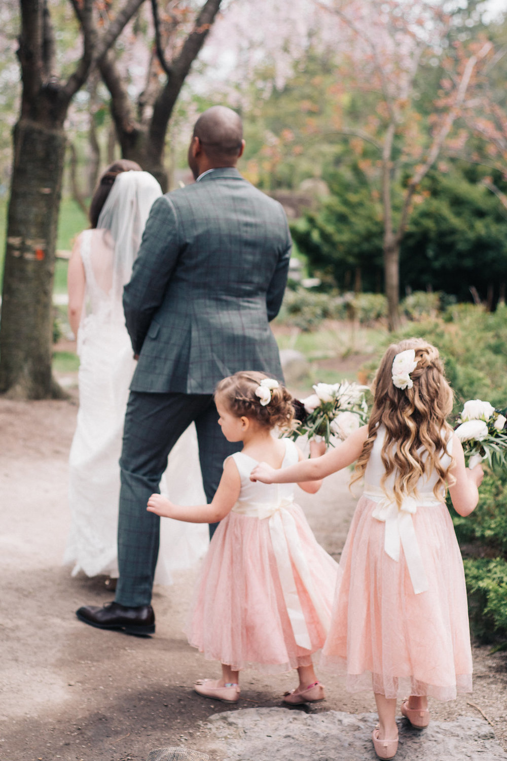 These little flower girls melted our hearts!