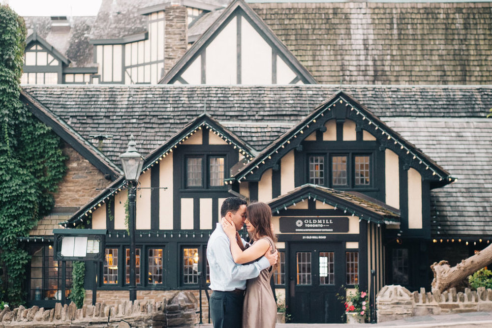 The Old Mill, Toronto, Engagement Session