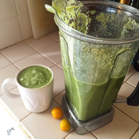 lots & lots of green smoothie!