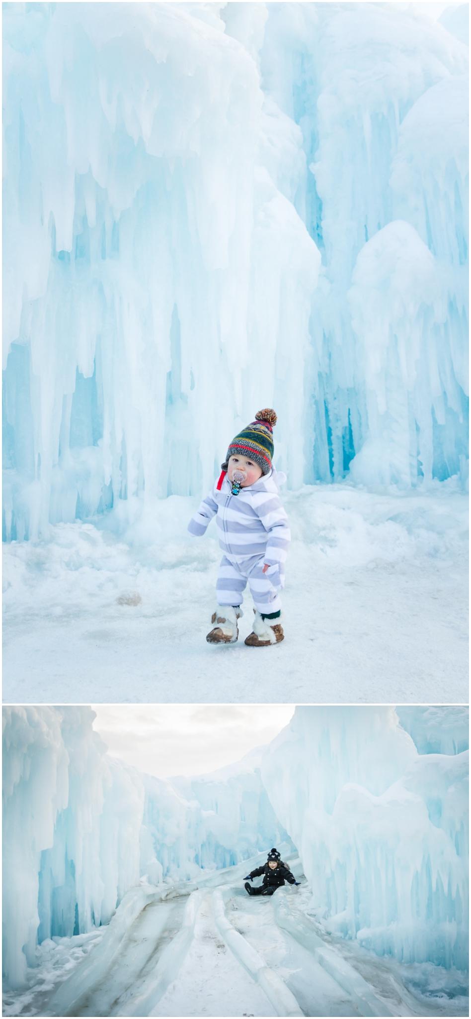 Edmonton Photographer - Best of 2016 YEG Ice Castle Ice Castles