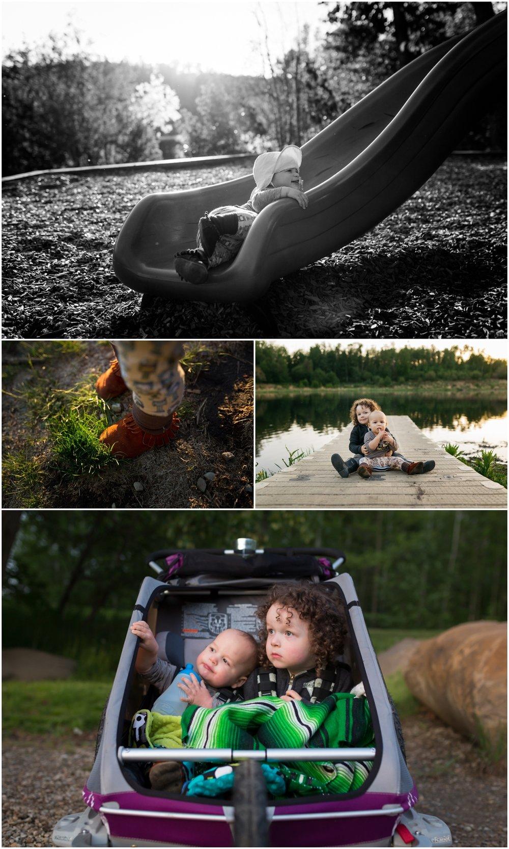 Edmonton Child Photographer - Lifestyle - Best of 2016 - Brothers