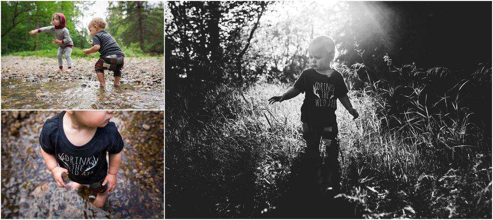 Edmonton Children Photographer - Mill Creek Ravine - Best of 2016 - Sunflare