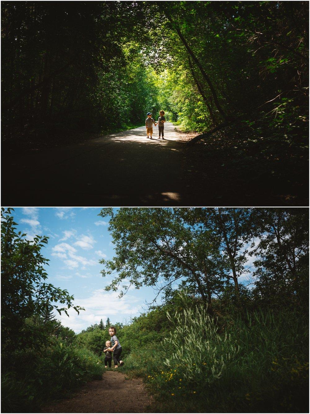 Edmonton Child Photographer - Best of 2016 - Mill Creek Ravine - YEG - Summer - Best friends - Brothers