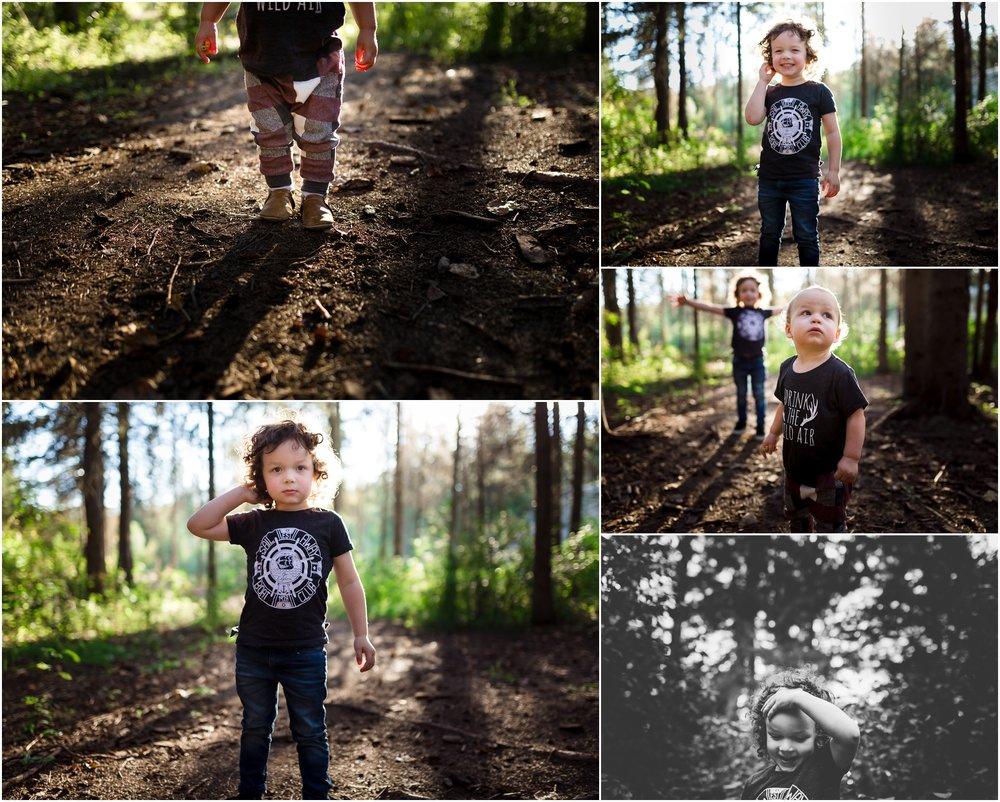 Edmonton Lifestyle Photographer - Best of 2016 - Whitemud Ravine Park - YEG - Summer - Brothers