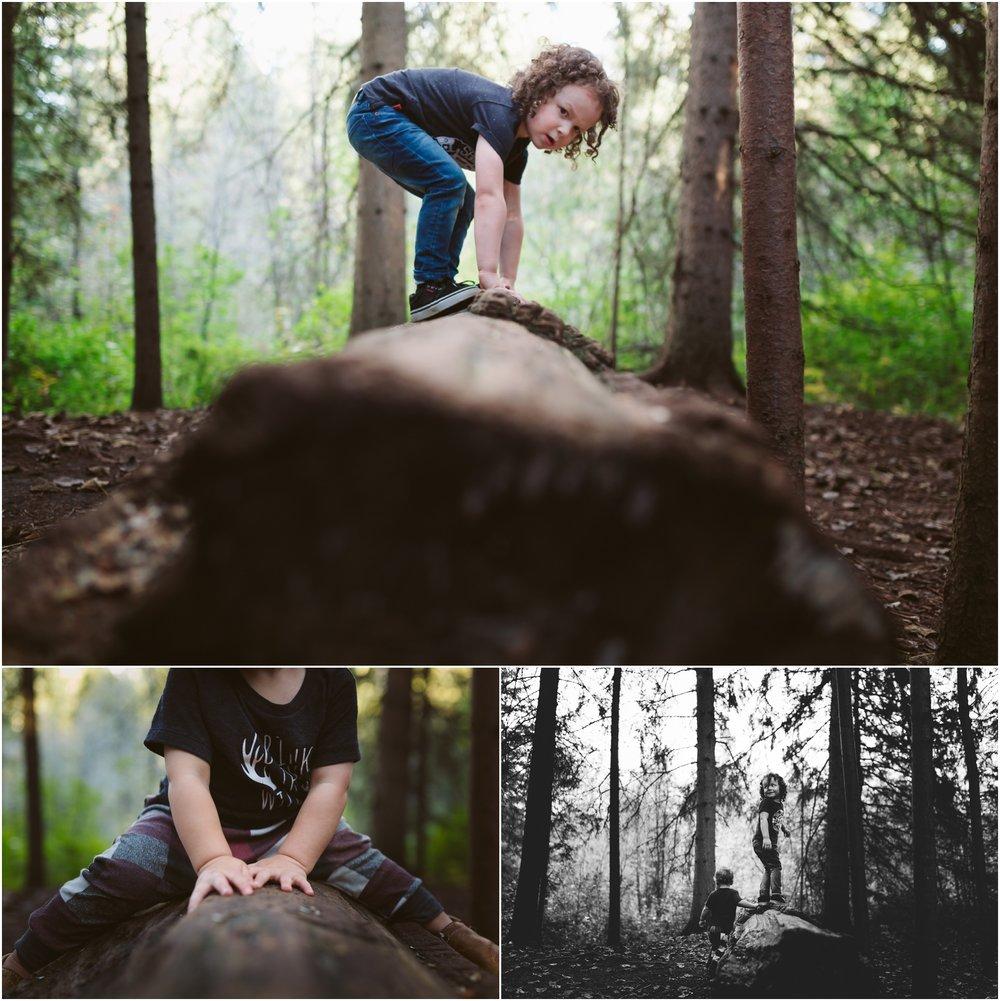 Edmonton Lifestyle Photographer - Best of 2016 - Adventure - Whitemud Ravine Park - Outdoors - YEG Summer