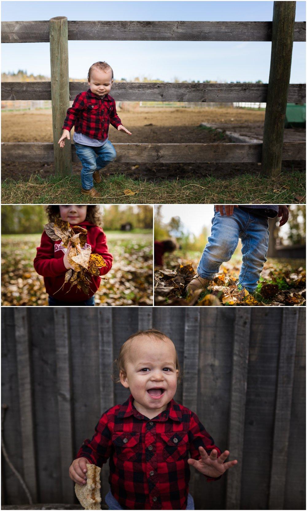 Edmonton Family Photographer - Best of 2016 - YEG Autumn Fall - Fort Edmonton Park