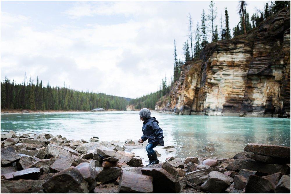 Edmonton Photographer - Best of 2016 - Athabasca Falls - Travel Alberta - YEG - Rocky Mountains