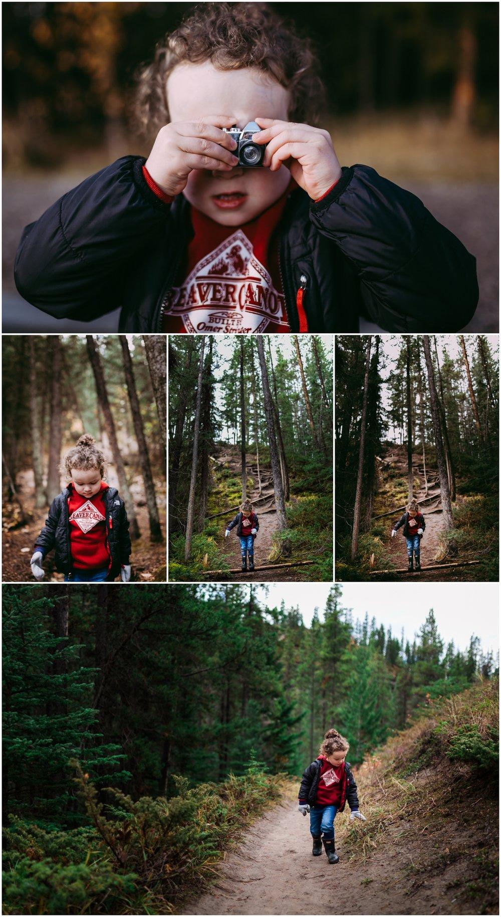 Edmonton Lifestyle Photographer - Best of 2016 - Jasper Alberta - Maligne Canyon - tourists - beaver canoe - Explore Alberta