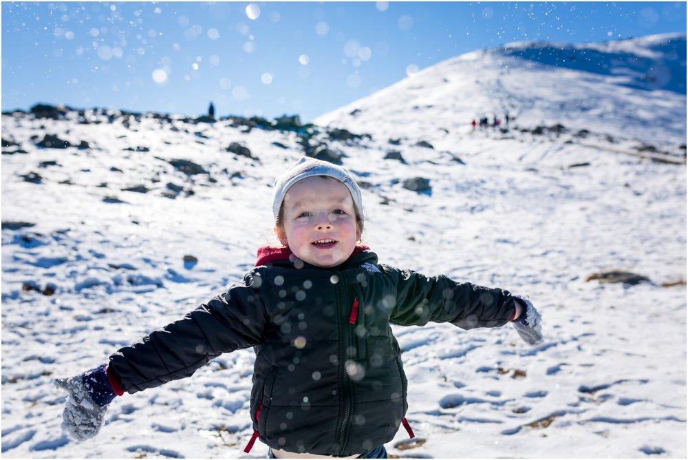 Edmonton Lifestyle Photographer - Jasper Alberta - Whistlers Mountain - Snow peak - Jasper Skytram