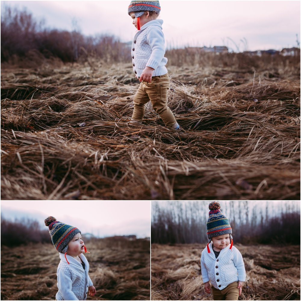 Edmonton Family Photographer - Lifestyle - Best of 2016 - Adventure - Toddler
