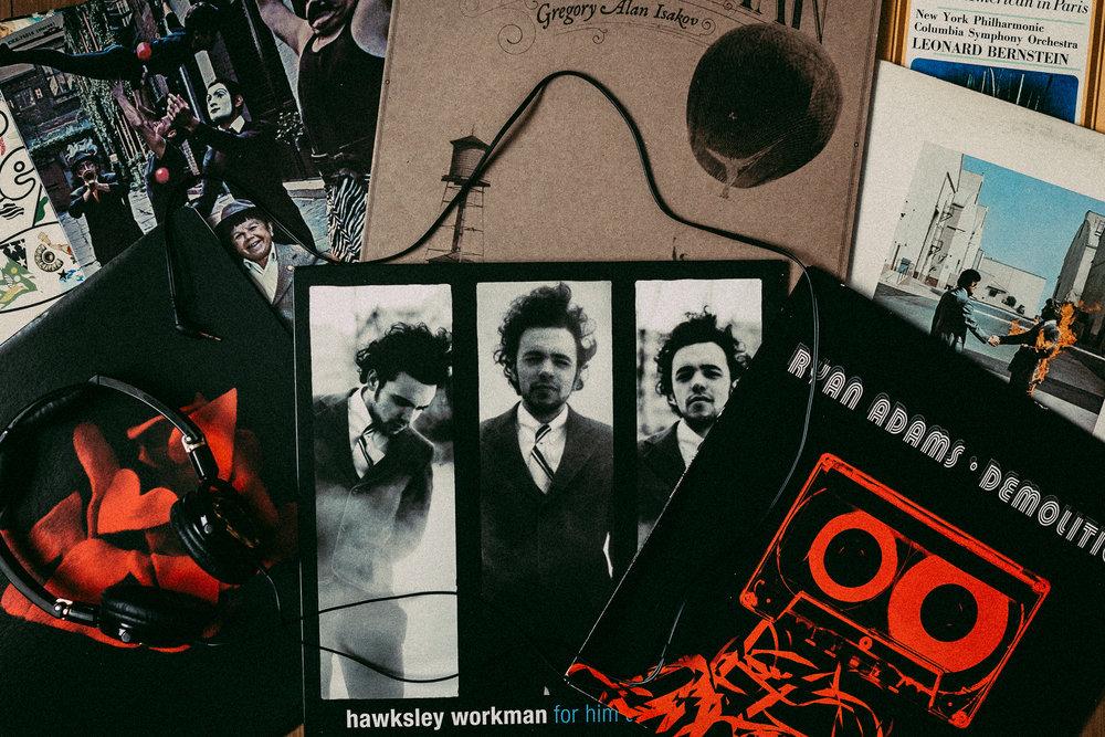 Edmonton Photographer Music Vinyl LP