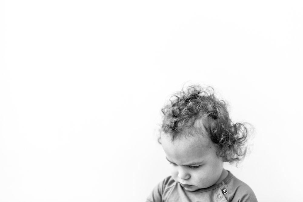 Edmonton Family Photographer - Curly Hair Portrait