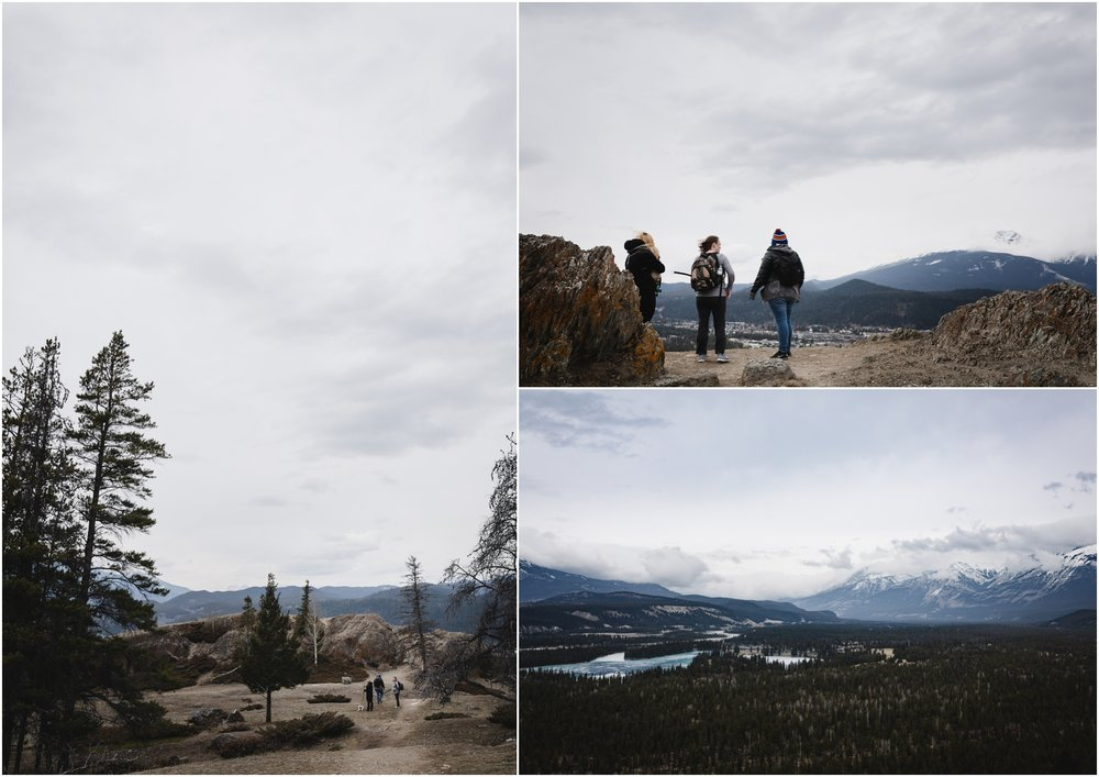 Jasper National Park - Old Fort Point - Alberta Canada - Canadian Rocky Mountains - Mountain Views - Athabasca River - Treelines Photography - Edmonton Lifestyle Photographer