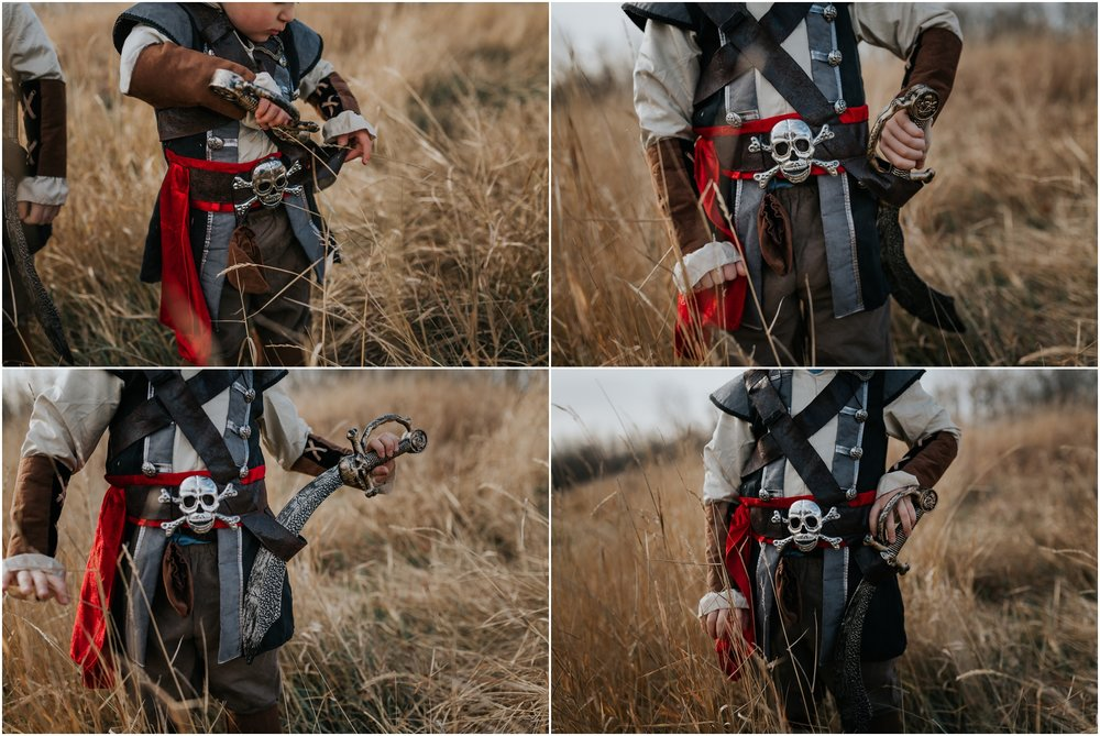 Edmonton Photographer - Pirate Adventure Costume