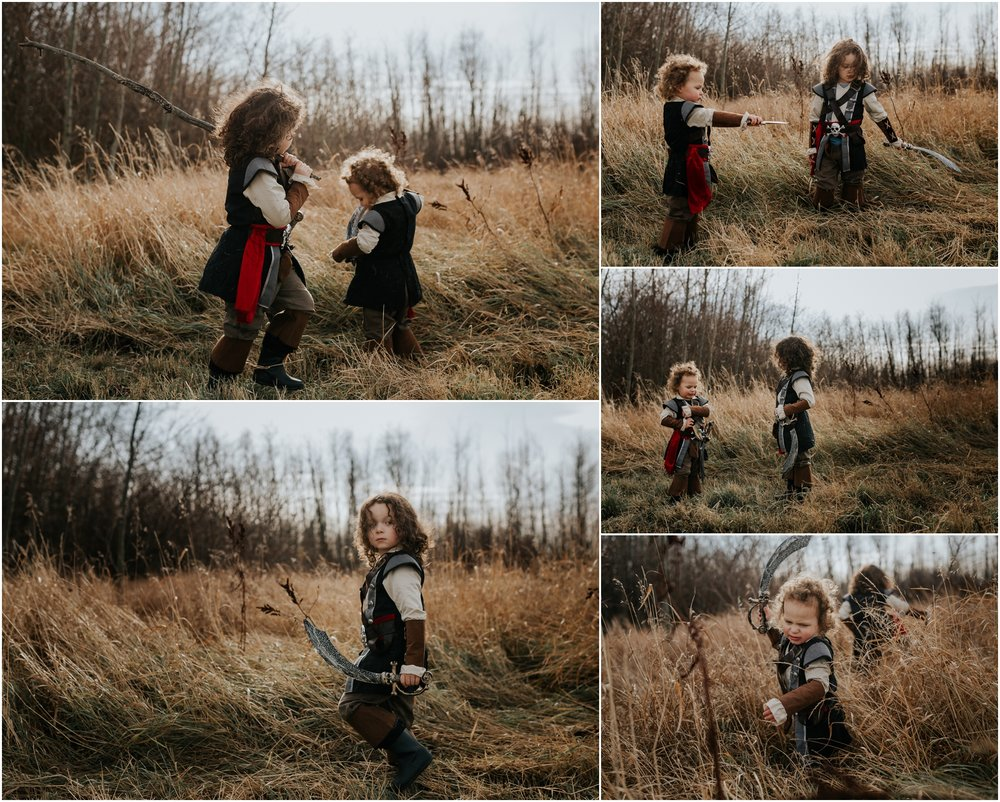 Edmonton Photographer - Pirate Halloween Costumes - Halloween Adventure Sessions