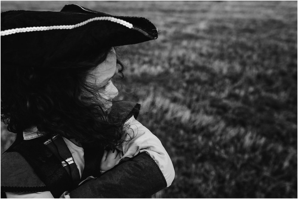 Edmonton Photographer - Lifestyle Documentary Adventure Photography - Pirate Costume - Pirate Hat