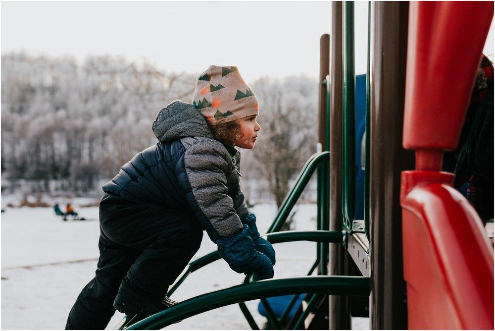 Edmonton Family Photographer - Lifestyle photography - Winter jackets in Alberta