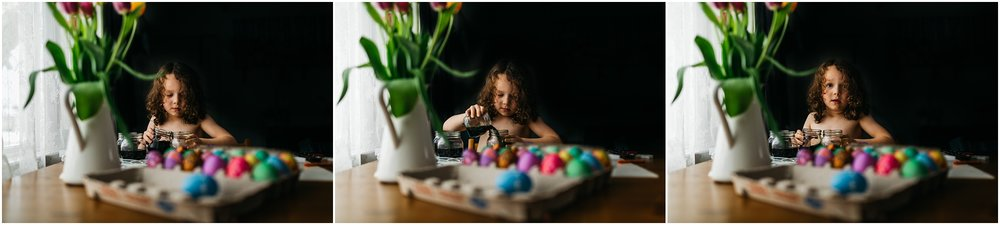 Easter Egg Painting - Edmonton Photographer - Edmonton Family Photographer -  Easter Eggs - Easter 2018 - Crayons on Easter Eggs - Edmonton Documentary Photographer - Family Photography - Documentary Photography - Edmonton Documentary Photographer - Edmonton Lifestyle Photography