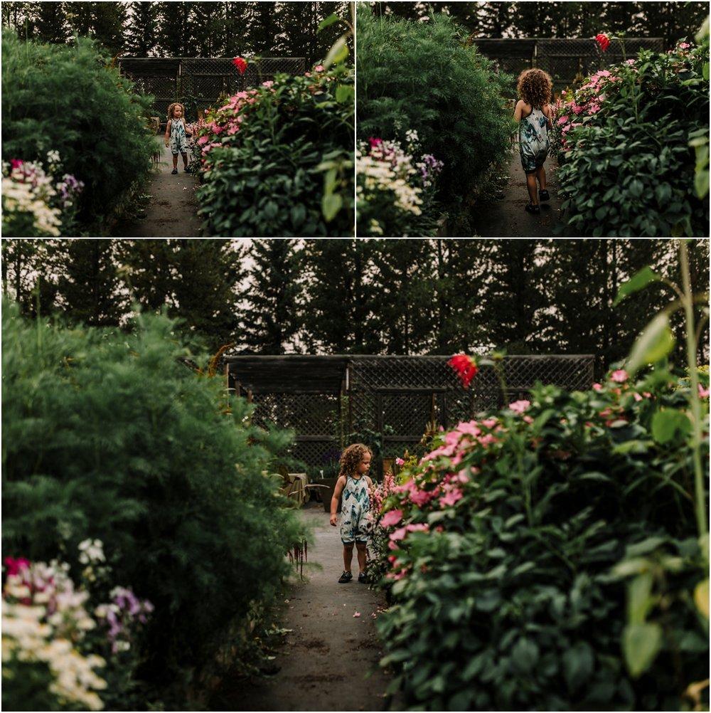 Edmonton Photographer - Treelines Photography - Family Photographer - Flower Farm