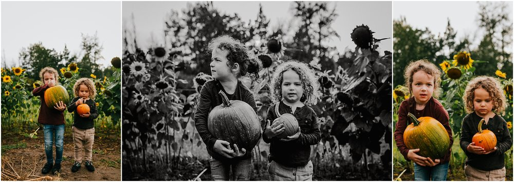 Edmonton Family Photographer - Edmonton Photography - Pick your own pumpkins Edmonton