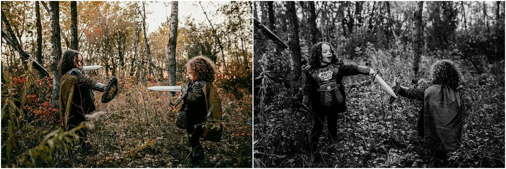 Edmonton family photographer - Treelines Photography - Halloween lifestyle session