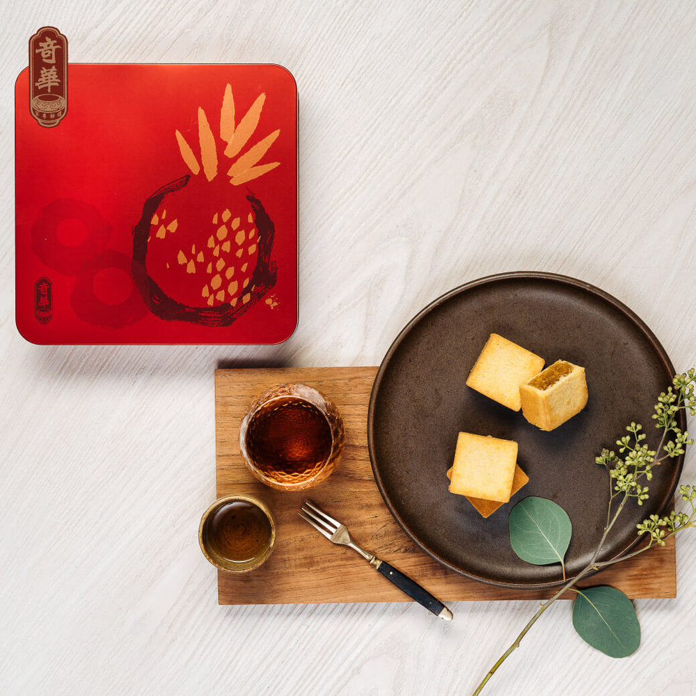 Pineapple Shortbread