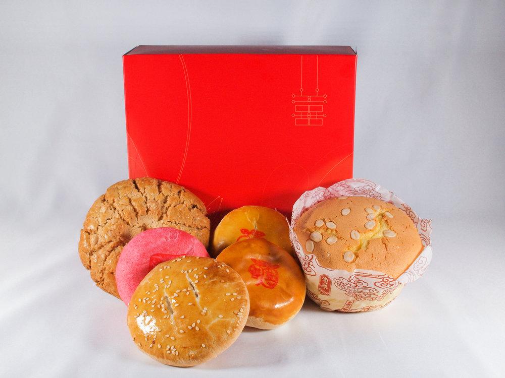 """Wedding Box 'F"""" 金巧喜禮盒"""