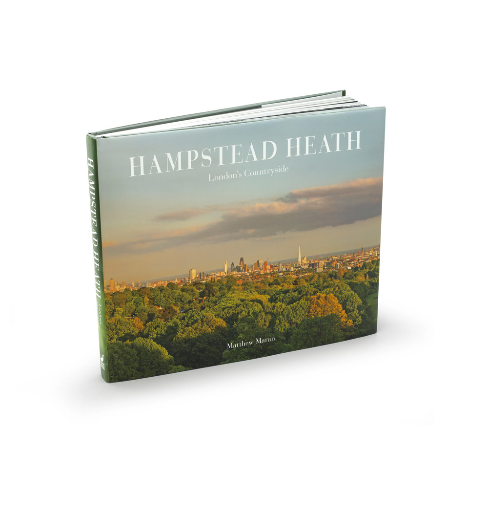 Hampstead Heath (London's Countryside) is the latest book from wildlife photographer Matthew Maran
