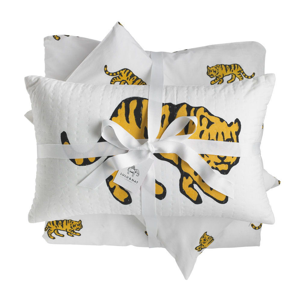 Tiger Bed Set