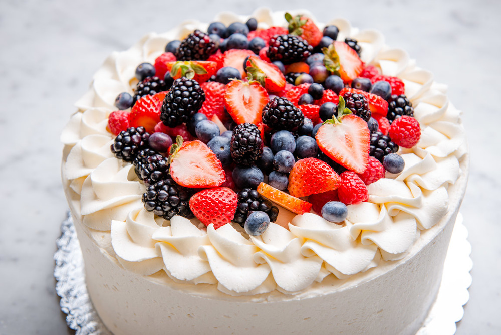 Berry Good Tres Leches Cake Angel Food