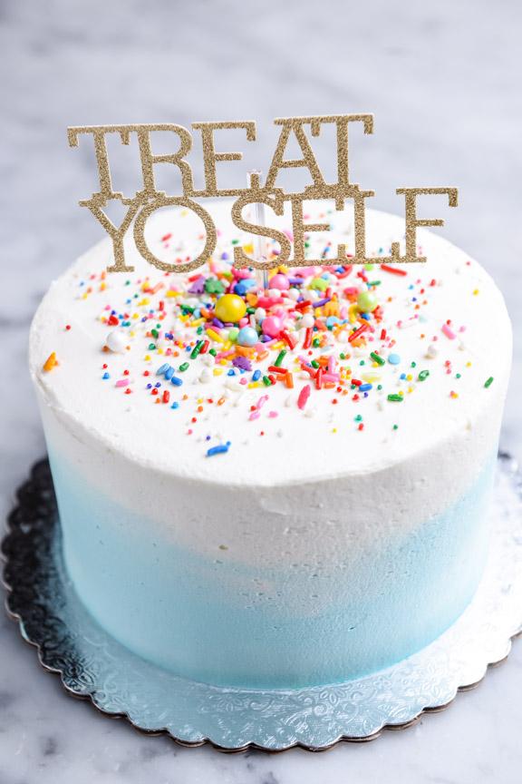 Classic Chocolate Birthday Cake Angel Food