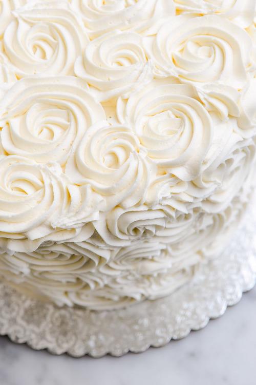 Classic Vanilla Birthday Cake Angel Food