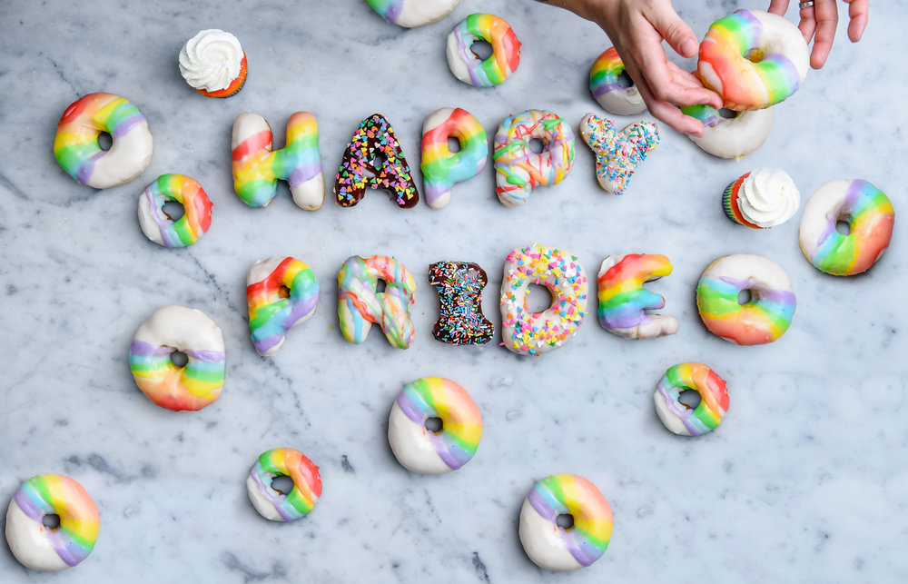June is National Pride Month! - All PRIDE parties need rainbows, why not make them as sweet as possible! Click here to pre-order your bright and colorful treats. Rainbow Brite would be so proud.
