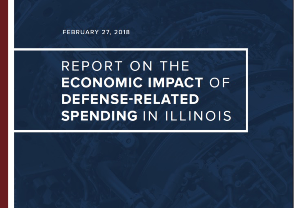 Download our newest Report on the Economic Impact of Defense-related Spending in Illinois    -