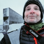 Bender at the Svalbard Global Disaster Seed Vault