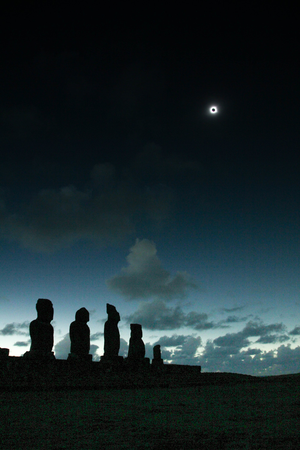 Easter Island Eclipse TV Special for National Geographic