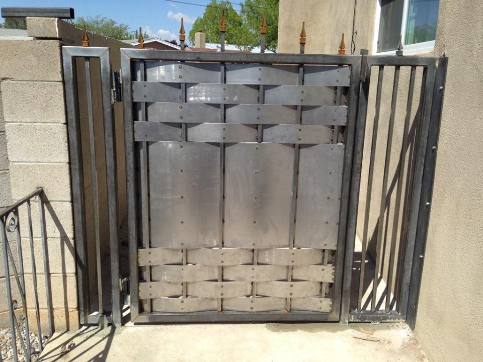 Custom metal gates — salteydogg fab