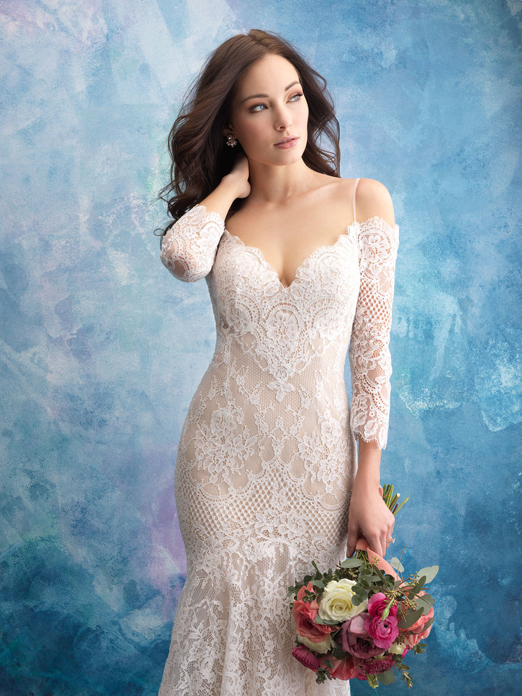 2f172177153a This stunning Casablanca style is the perfect pick for the bride who  desires a timeless elegance. This style features a structured A-line satin  skirt which ...