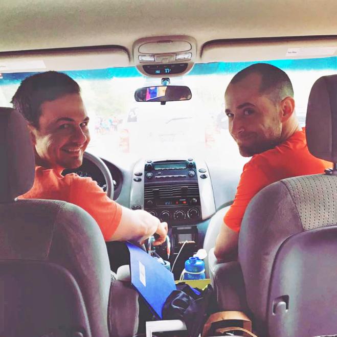Team orange (entirely unplanned).Photo by Mindy Durias.