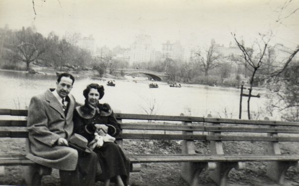 Central Park, NYC, circa 1951.