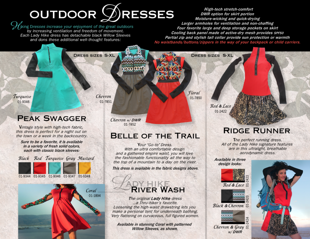 Backpacking Dresses