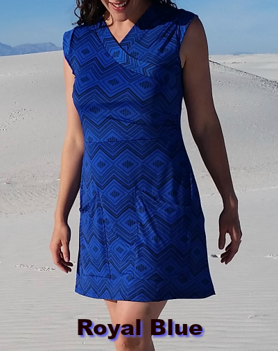 Royal Blue Summer Day Dress