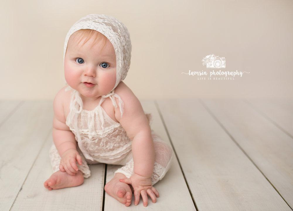 Toddler Sitter Six Month Portrait Photographer Brevard Melbourne Florida Studio Kids.jpg