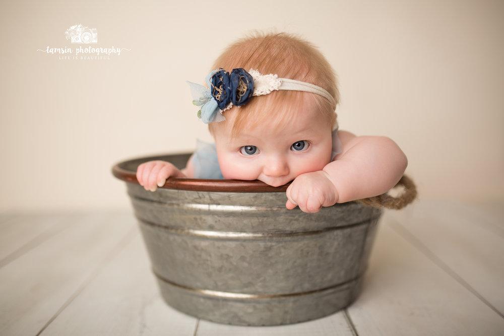 Six Month Portraits Sitter Session Kids Photography Photographer Florida Brevard Tamsin.jpg