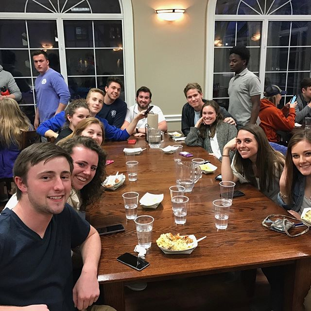 Our annual Mac n' Cheese with the SAE'S philanthropy was a huge hit! In total, we raised $2500 for the Children's Miracle Network. A very special thank you to our very own Chef Matt for making the delicious food, and members Ivor Vinsant and Brandon True for coordinating the event! See you next year!