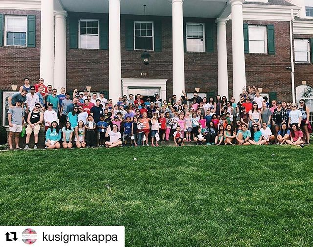 Always a great time hosting the kids of @bgclk with Sigma Kappa!
