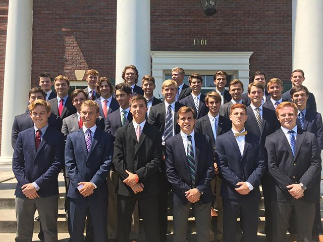 Excited to welcome the 27 men of the Fall '17 Class to the Kansas Alpha Chapter!