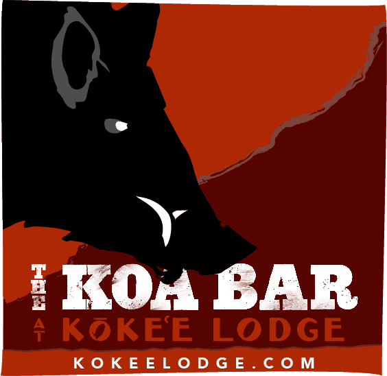 The Koa Bar at Kōkeʻe Lodge